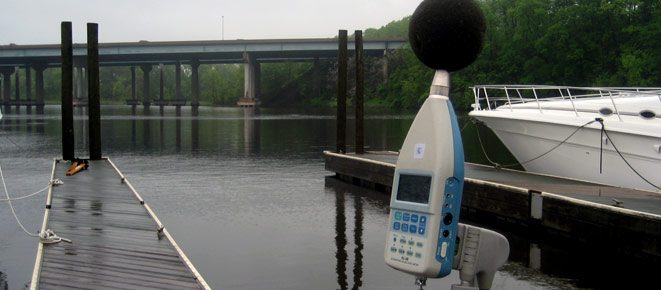 Noise Analysis  for the Potomac River Commuter Ferry Service Study and Route Proving Exercise